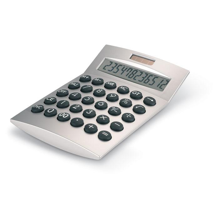 Calculadora 12 dígitos. Regalos promocionales y reclamos publicitarios