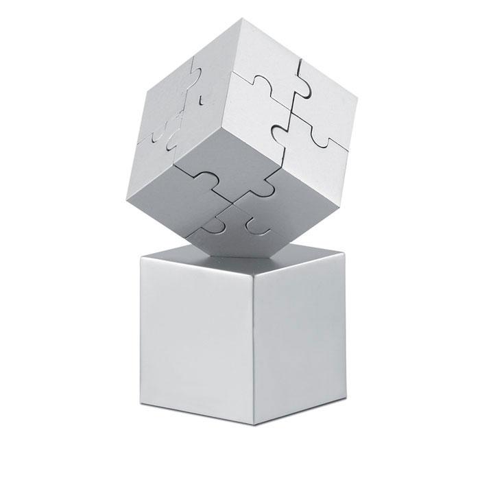 Puzzle 3D metálico/ magnético. Regalos promocionales y reclamos publicitarios
