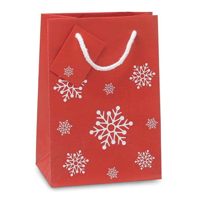 Bolsa regalo tamaño pequeño. Regalos promocionales y reclamos publicitarios