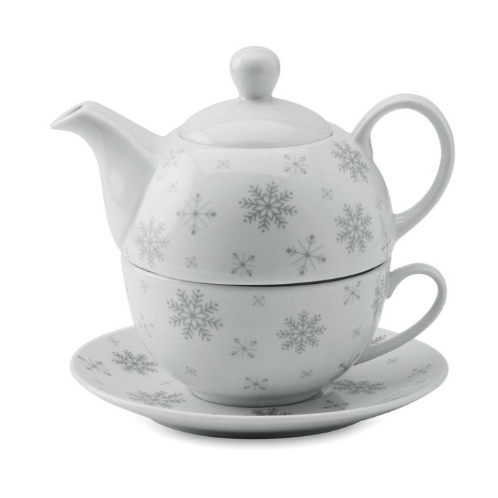Juego té Navidad. Regalos promocionales y reclamos publicitarios