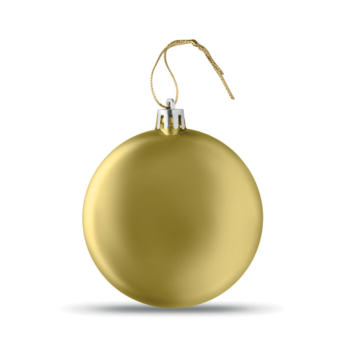 Bola Navidad plana . Regalos promocionales y reclamos publicitarios