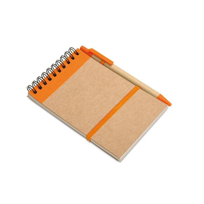 IT3789-10<br> Bloc notes reciclat și pix
