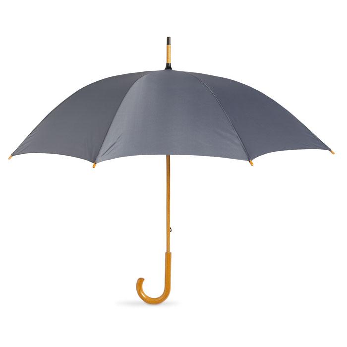 Paraguas con mango madera, Paraguas, impermeables y ponchos