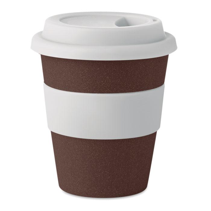 Vaso cascara café/ PP    . Regalos promocionales y reclamos publicitarios