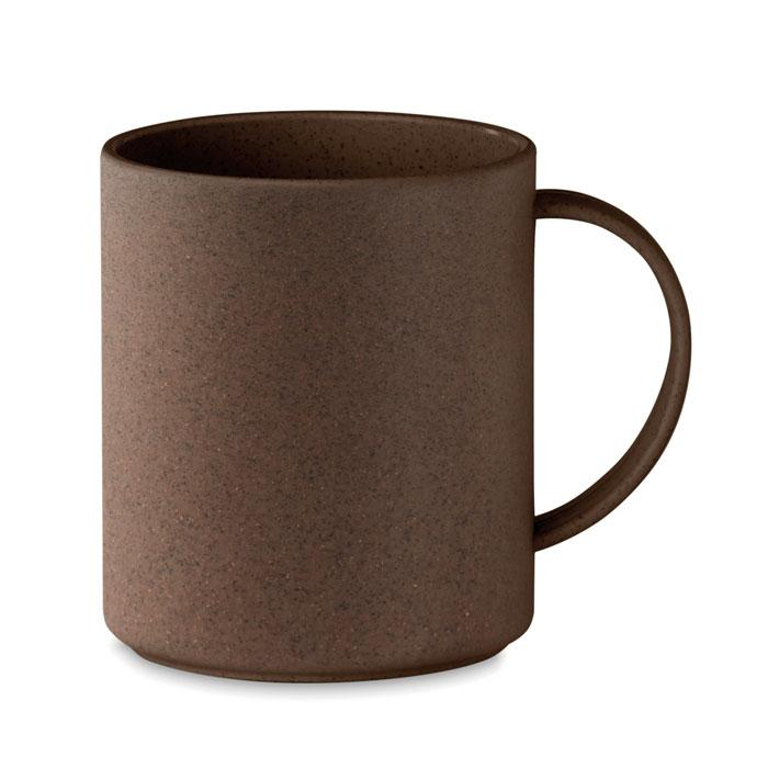 Taza cascara café/ PP. Regalos promocionales y reclamos publicitarios