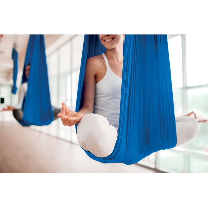 Hamaca aero yoga/ pilates. Regalos promocionales y reclamos publicitarios