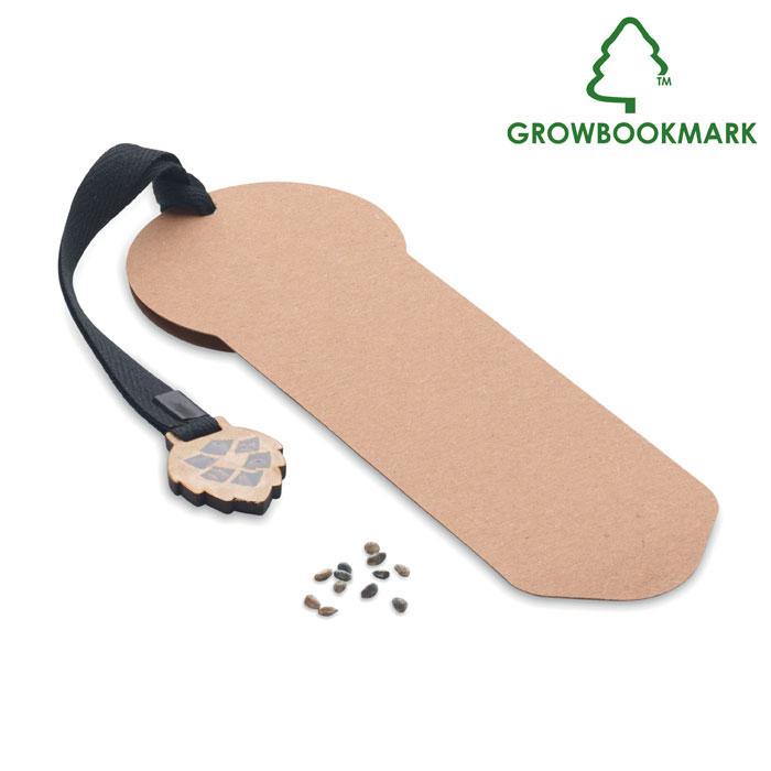 MO6226-13<br> Semn de carte cu semințe pin