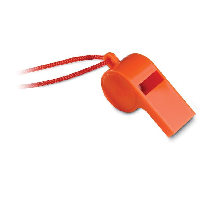 MO7168 10 Fluitje met nekkoord drukkerij snelle levertijd