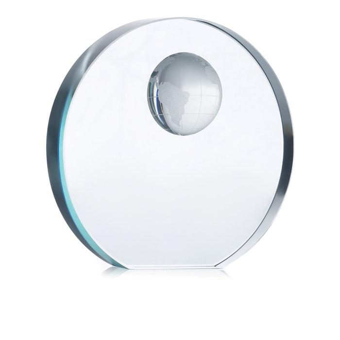 Trofeo esfera cristal        , Trofeos, medallas y artículos diversos