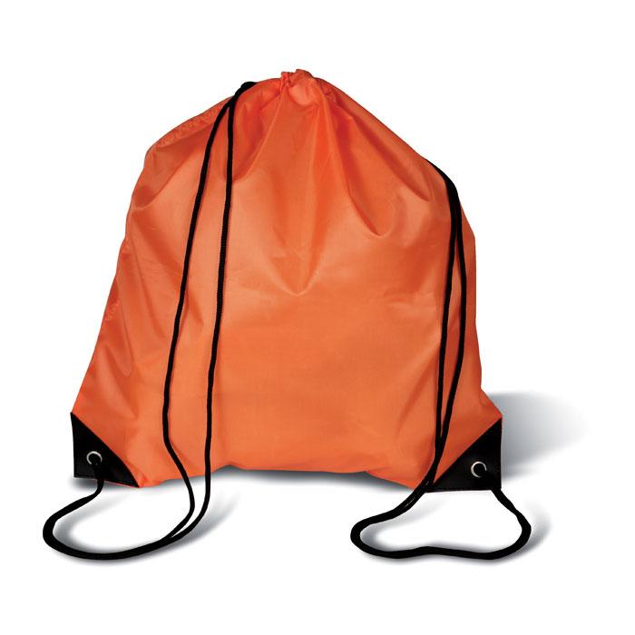 Rugzakje met koord MO7208-10 oranje