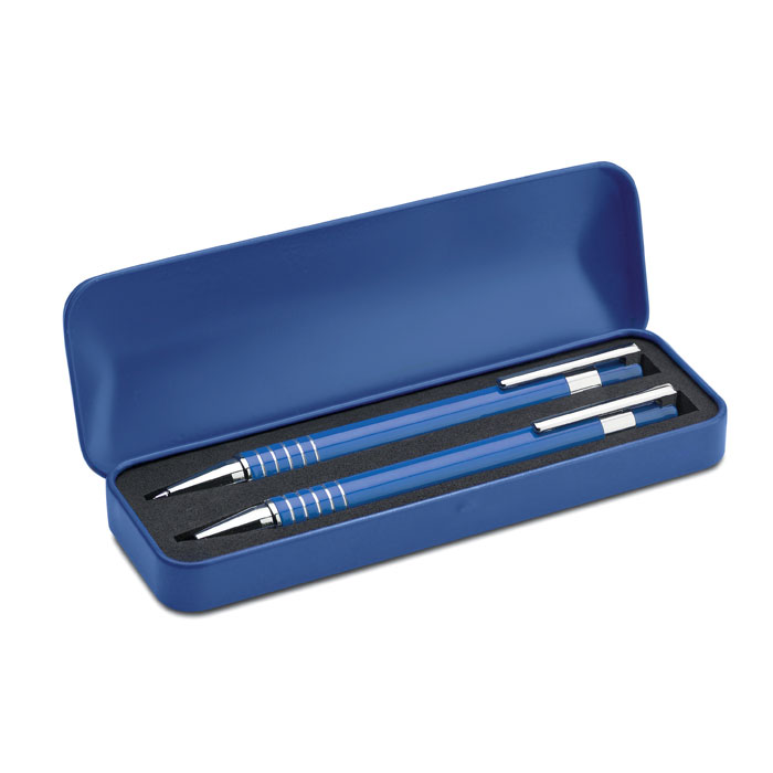 Set bolígrafos en caja    . Regalos promocionales y reclamos publicitarios