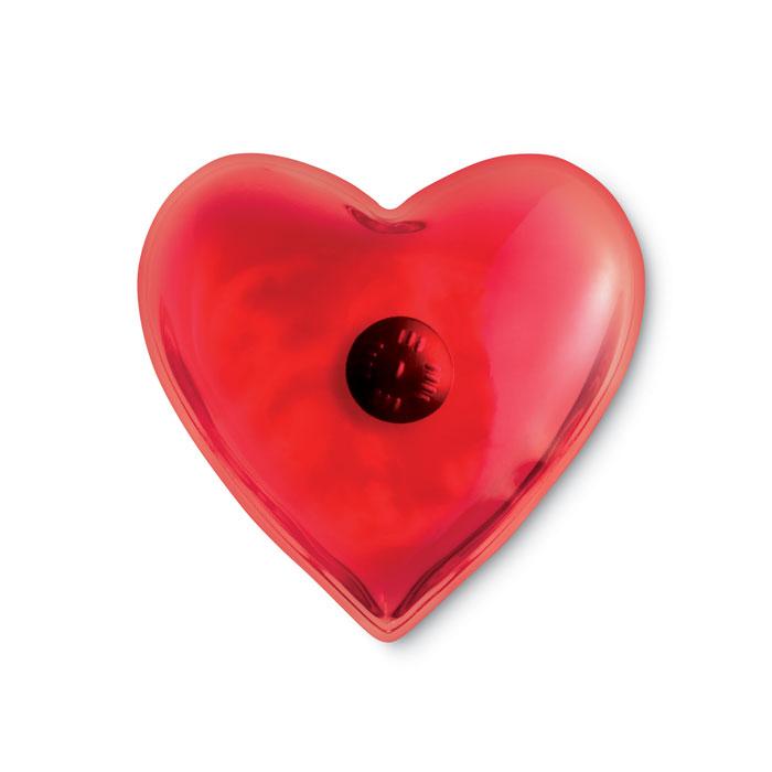 Calienta manos corazón       . Regalos promocionales y reclamos publicitarios