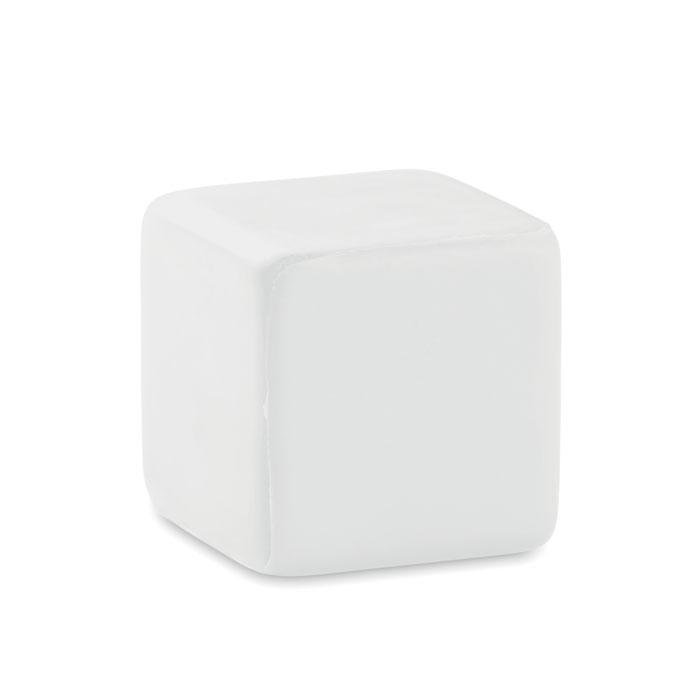 MO7659 06 Antistress vierkant met opdruk VRIJETIJD