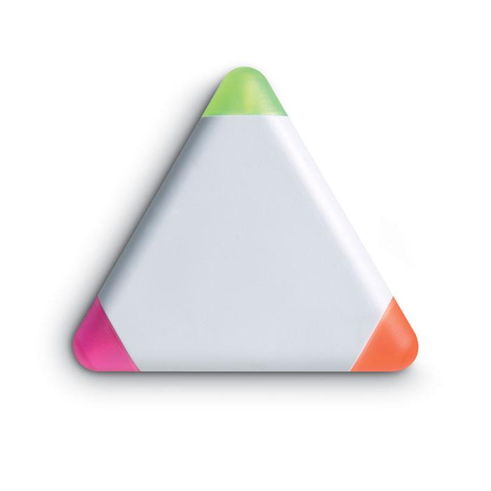 Marcador triangular          . Regalos promocionales y reclamos publicitarios