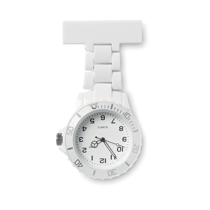 Reloj enfermera analógico. Regalos promocionales y reclamos publicitarios