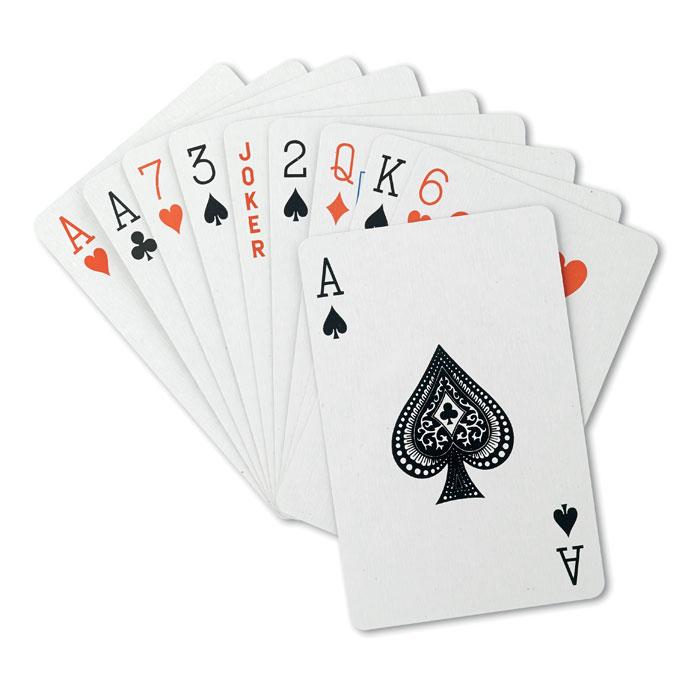 Juego cartas en caja      . Regalos promocionales y reclamos publicitarios