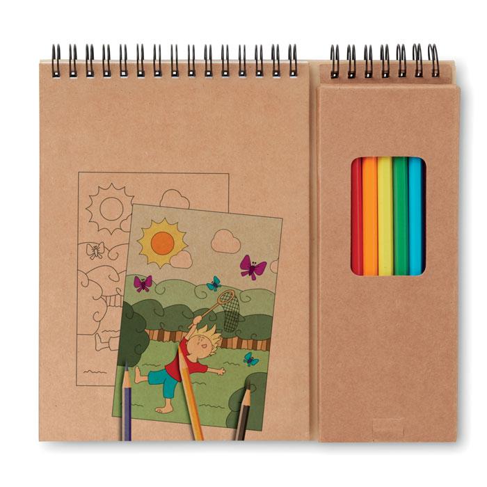Set lápices/ cuaderno    . Regalos promocionales y reclamos publicitarios
