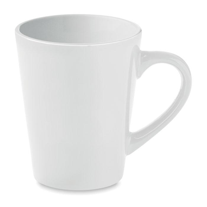 Taza cerámica café. Regalos promocionales y reclamos publicitarios