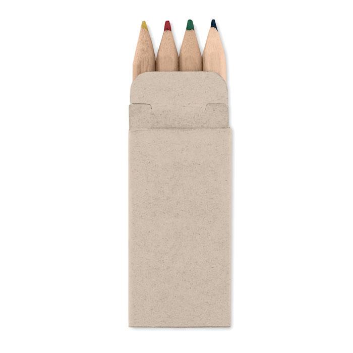 4 lápices colores         . Regalos promocionales y reclamos publicitarios