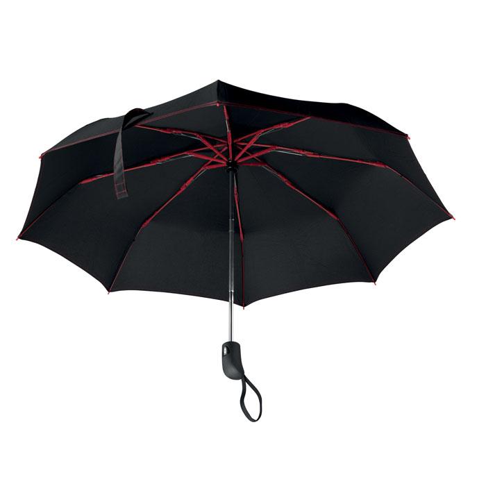 Paraguas plegable 21''    . Regalos promocionales y reclamos publicitarios