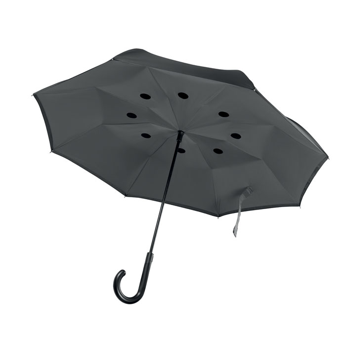 Paraguas reversible 23''   . Regalos promocionales y reclamos publicitarios