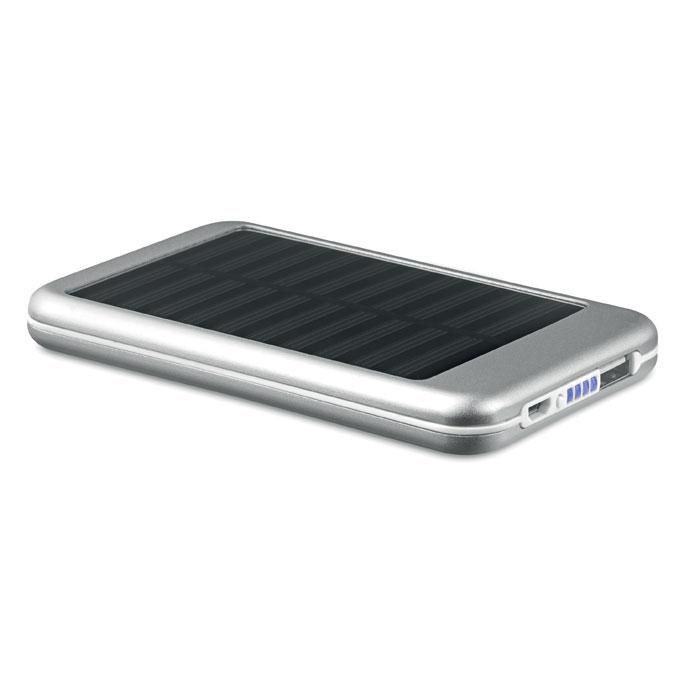 Power Bank solar 4000 mAh     . Regalos promocionales y reclamos publicitarios