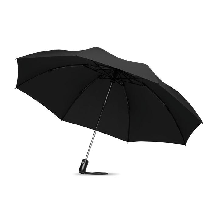Paraguas plegable/ reversible. Regalos promocionales y reclamos publicitarios