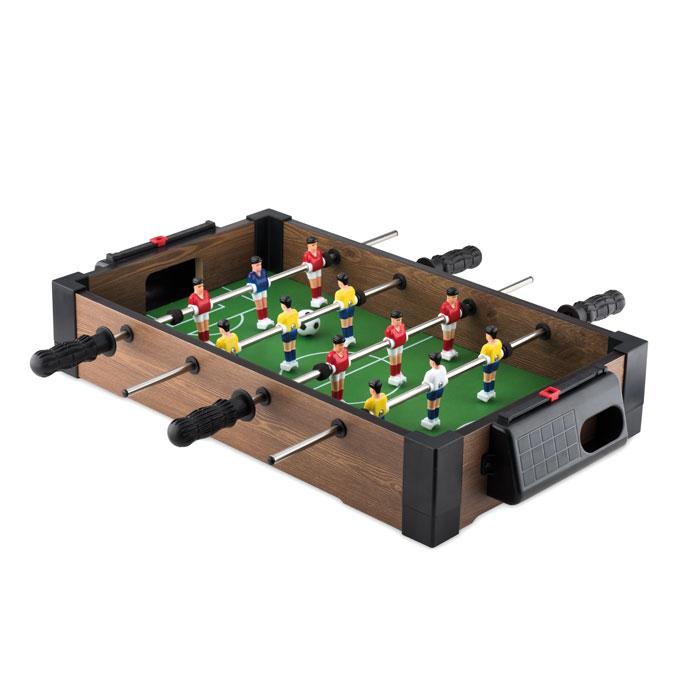 Mini Futbolín                . Regalos promocionales y reclamos publicitarios
