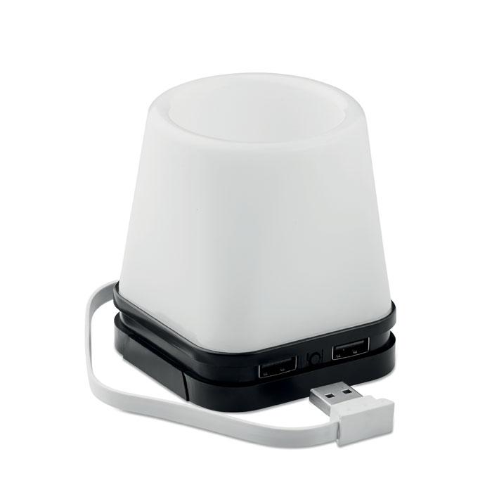 Portabolis con hub USB       . Regalos promocionales y reclamos publicitarios
