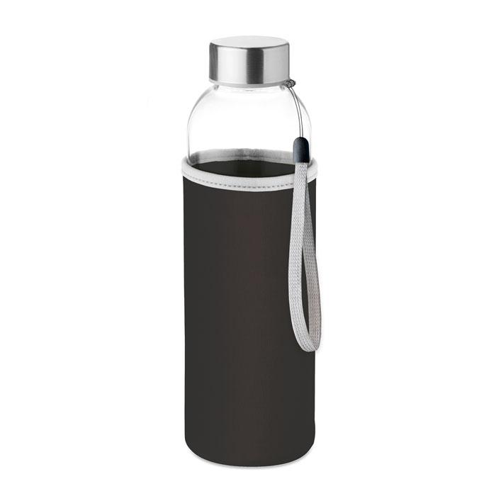 Botella cristal con neopr.. Regalos promocionales y reclamos publicitarios