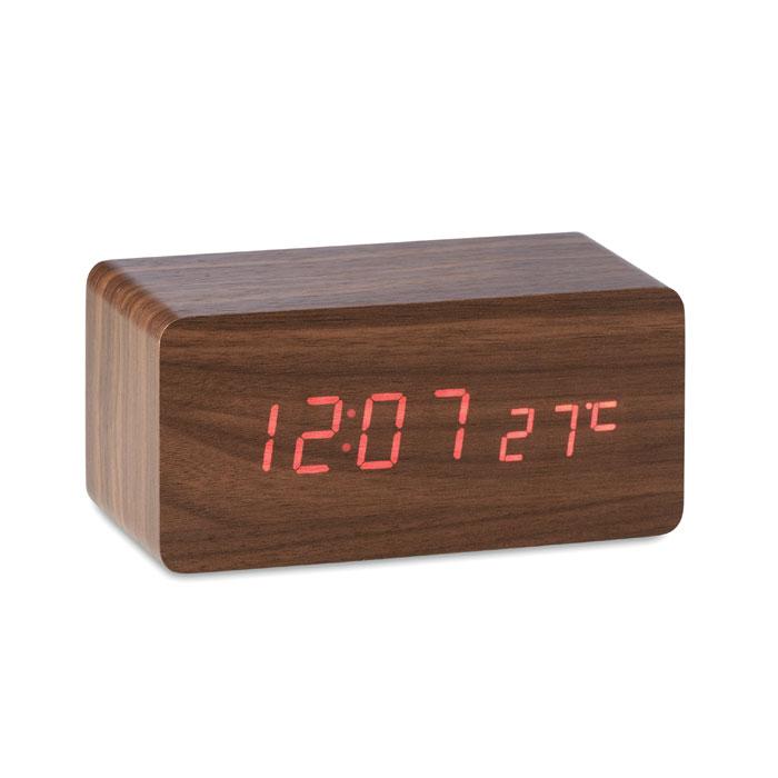Reloj con carga inalámbrica   . Regalos promocionales y reclamos publicitarios