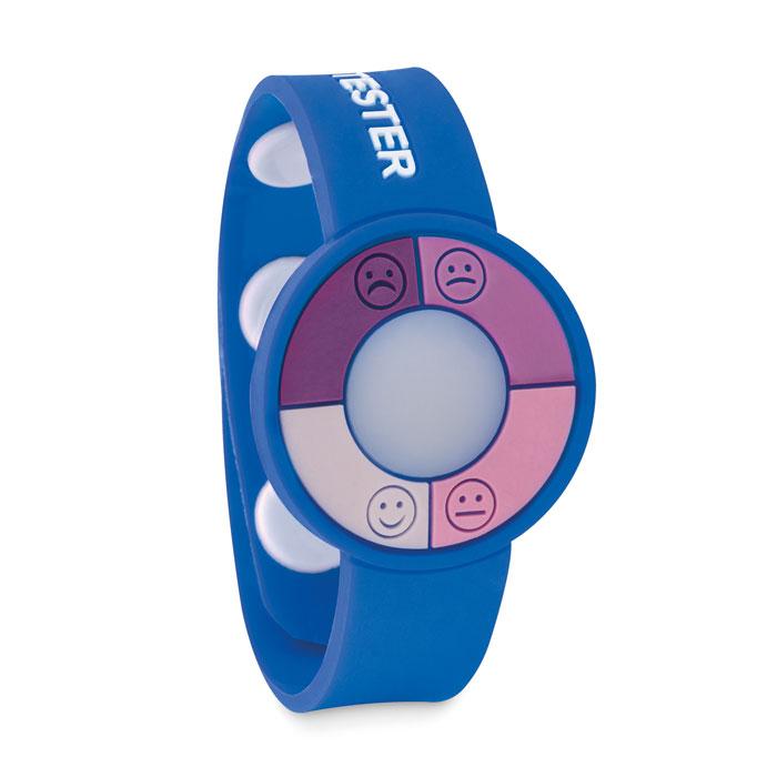 Reloj sensor UV PVC       . Regalos promocionales y reclamos publicitarios