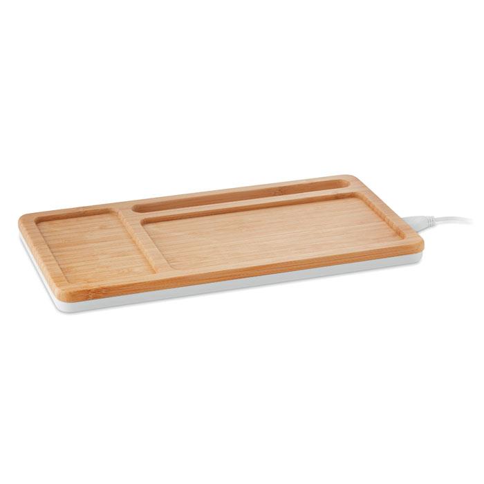 Set sobremesa bambú    . Regalos promocionales y reclamos publicitarios