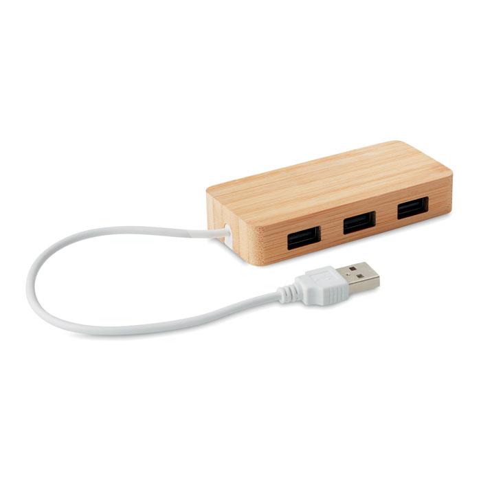 Hub USB 3 puertos 2.0     . Regalos promocionales y reclamos publicitarios