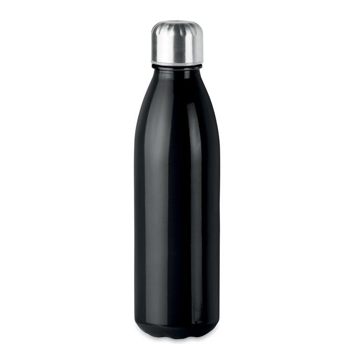 Botella cristal. Regalos promocionales y reclamos publicitarios