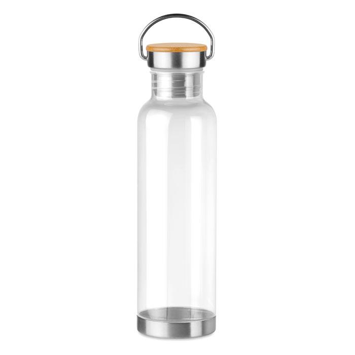 Tritan 800ml bottle bamboo top