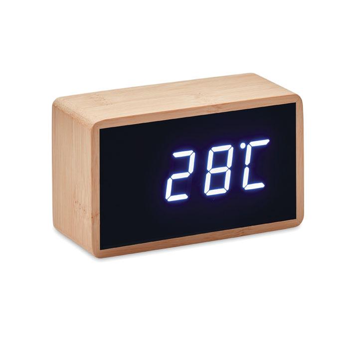 Reloj despertador/ temperatura. Regalos promocionales y reclamos publicitarios